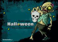 eKartki elektroniczne z tagiem: Kartka Halloween Nadciąga Halloween,