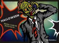 eKartki elektroniczne z tagiem: Kartki Halloween Nocna zabawa,