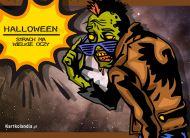 eKartki Halloween Strach ma wielkie oczy,