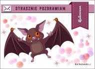 eKartki elektroniczne z tagiem: e-Kartka na Halloween Strasznie pozdrawiam,