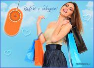 eKartki Wyraź uczucia -> Radość Radość z zakupów,