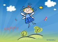 eKartki Wyraź uczucia -> Radość Happy,