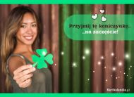 eKartki elektroniczne z tagiem: e-Kartka powodzenia Na szczęście...,