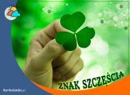eKartki Wyraź uczucia -> Powodzenia Znak szczęścia!,