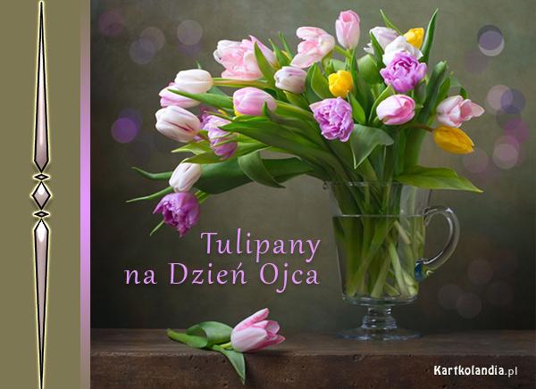 Tulipany na Dzień Ojca