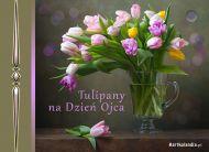 eKartki Dzieñ Ojca Tulipany na Dzieñ Ojca,