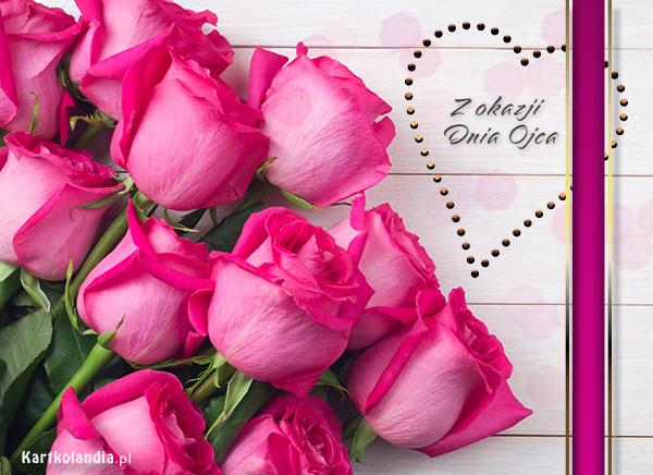 Róże na Dzień Ojca