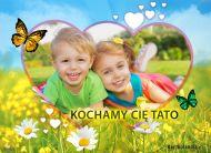 eKartki elektroniczne z tagiem: Kartka dla Tatusia Kochamy Ciê Tato,