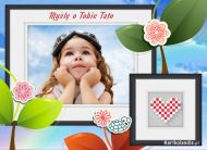 eKartki elektroniczne z tagiem: Kartki elektroniczne na Dzieñ Ojca My¶lê o Tobie Tato,