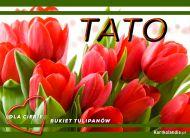 eKartki Dzień Ojca Bukiet tulipanów,