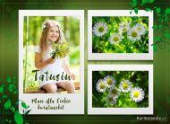 eKartki elektroniczne z tagiem: Darmowe e-Kartki na Dzień Ojca Kwiatuszki dla tatusia,
