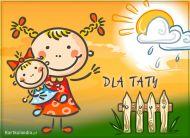 eKartki elektroniczne z tagiem: Darmowe kartki na Dzień Ojca Laurka dla Taty,
