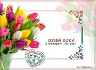 eKartki elektroniczne z tagiem: Darmowe kartki na Dzień Ojca Z wyrazami miłości,