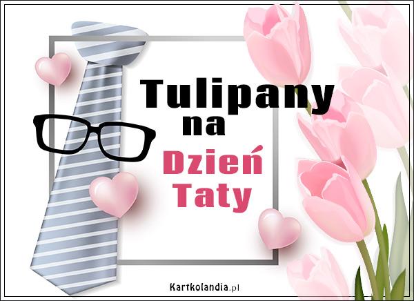 eKartki elektroniczne z tagiem: Tulipan Tulipany na Dzień Taty,