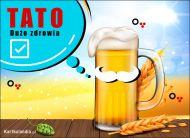 eKartki elektroniczne z tagiem: Dzień Ojca Dużo zdrowia Tato!,
