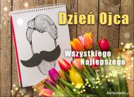 eKartki Dzień Ojca Dzień Ojca - Bukiet tulipanów,
