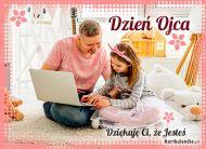 eKartki Dzień Ojca Dziękuję Ci, że Jesteś!,