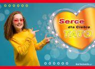 eKartki elektroniczne z tagiem: Dzień Ojca Serce dla Ciebie Tato!,