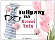 eKartki Dzień Ojca Tulipany na Dzień Taty,
