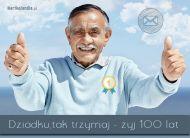 eKartki Dzieñ Babci i Dziadka Dla wspania³ego Dziadka,