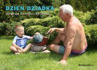 eKartki Dzieñ Babci i Dziadka Dziêkujê Dziadku, ¿e Jeste¶,