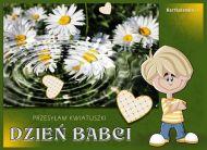 eKartki elektroniczne z tagiem: Dzieñ Babci Kartki Kwiatuszki dla Babci,