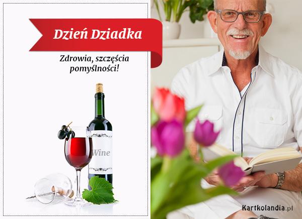 eKartki Dzień Babci i Dziadka Zdrowia szczęścia pomyślności ...,