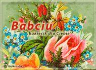 eKartki elektroniczne z tagiem: Darmowe kartki elektroniczne Bukiecik kwiatów,