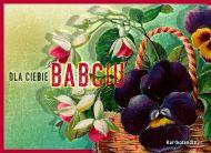 eKartki Dzień Babci i Dziadka Kosz kwiatów dla babci,