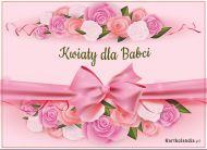 eKartki elektroniczne z tagiem: Kartki elektroniczne na Dzień Babci Kwiaty dla Babci,