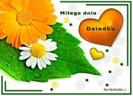 eKartki elektroniczne z tagiem: Kartka pozdrowienia Miłego dnia dziadku,