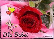 eKartki Dzień Babci i Dziadka Róża dla babci,