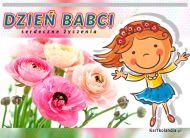 eKartki elektroniczne z tagiem: Kartki elektroniczne na Dzień Babci Serdeczne życzenia,