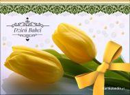 eKartki Dzień Babci i Dziadka Żółte tulipany dla babci,