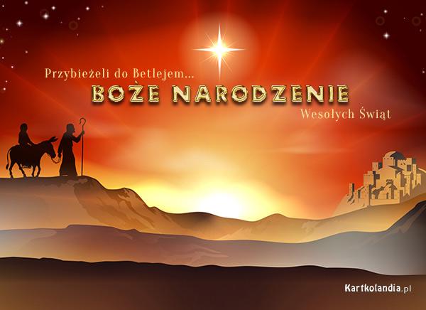 Kartka na Bo¿e Narodzenie