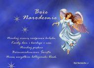 eKartki Religijne Anielskie Boże Narodzenie,