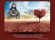 eKartki elektroniczne z tagiem: Darmowe kartki religia Chwała Bogu,
