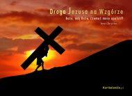 eKartki Religijne Droga Jezusa na Wzgórze,