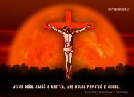 eKartki elektroniczne z tagiem: Kartka religijna Jezus na Krzyżu,