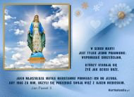eKartki elektroniczne z tagiem: Darmowe e-kartki religia Maryja Najczulsza Matka,