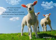 eKartki elektroniczne z tagiem: Darmowe kartki religijne Owieczki Pana,