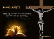 eKartki Religijne Pismo Święte,