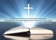 eKartki elektroniczne z tagiem: Darmowe kartki religijne Pismo ¦wiête - S³owa Pana,
