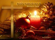 eKartki Religijne ¦wiate³ko Bo¿ego Narodzenia,