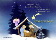 eKartki elektroniczne z tagiem: e-Kartki religijne na Boże Narodzenie Szopka,