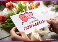 eKartki Wyraź uczucia -> Przepraszam Z głębi serca...,