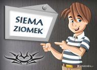 eKartki Wyraź uczucia -> Dzień Dobry Siema Ziomek,