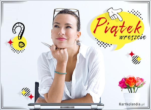 eKartki elektroniczne z tagiem: Darmowa kartka dzień dobry Kartka na piątek,
