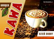 eKartki Wyraź uczucia -> Dzień Dobry Gorąca kawa na Dzień Dobry,