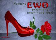 eKartki Imienne damskie Imieninowa róża dla Ewy,
